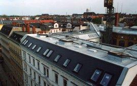 Residenze con terrazze costruite sul tetto