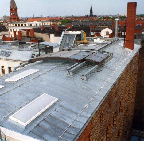 Residenze con terrazze costruite sul tetto 5