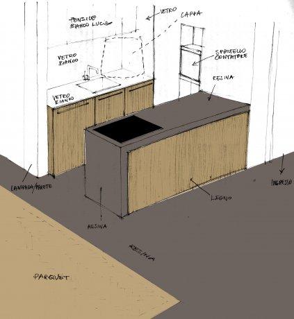 Abitazione in resina e legno 7