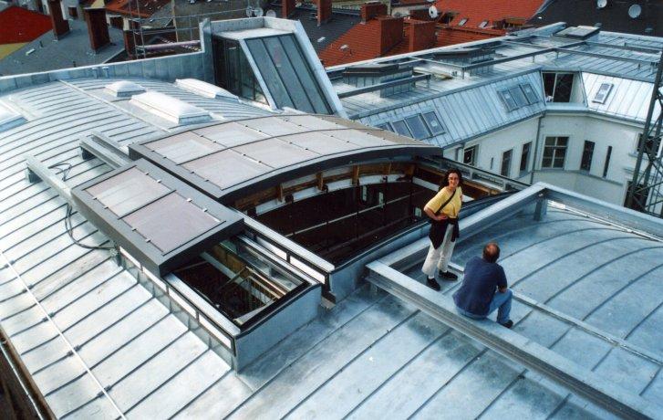 Residenze con terrazze costruite sul tetto 1