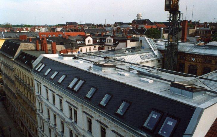 Residenze con terrazze costruite sul tetto 3