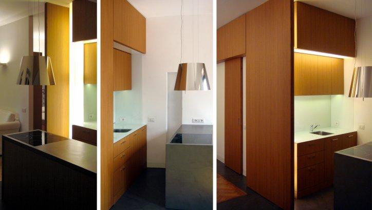 Abitazione in resina e legno