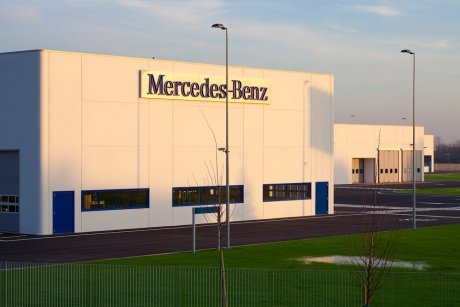 Centro veicoli commerciali Mercedes Benz 2